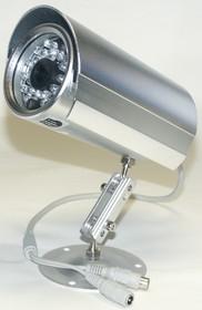 JK-2213 (213) (SH-30), Видеокамера цветная с подсветкой 380 тв. линий PAL, уличная IP67