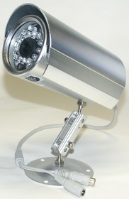 JK-2218(218) (SH-24), Видеокамера цветная, 380 тв.линий PAL, защита IP67