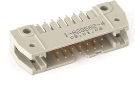 1-828582-4 IDCC-14MS(SCM-14), Вилка на плату с фиксацией