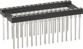 TRSL-32 (DS1007-32W), DIP панель 32-контактная цанговая широкая