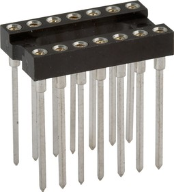 TRSL-14 (DS1007-14N), DIP панель 14-контактная цанговая узкая