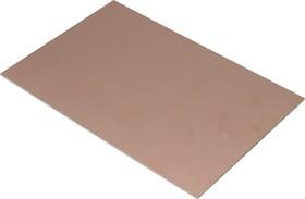 FR4 150х250мм 18/0 (1.5мм, 18мкм), Cтеклотекстолит 1-сторонний, фольгированный
