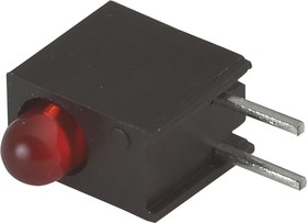 L-934EW/1ID (L-7104EW/1ID), Светодиод в корпусе красный 3мм 25мКд