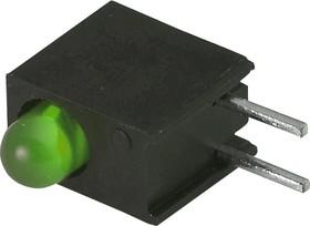L-934EW/1GD (L-7104EW/1GD), Светодиод в корпусе зеленый 3мм 20мКд