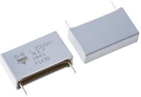 MKP1841268204, Cap Film 0.0068uF 2000V PP 5% (26.5 X 7.5 X 15.5mm) Radial Plastic Rectangular Can 22.5mm 100C Bulk