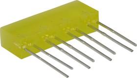 L-865/4YDT, Полоса световая желтая 5х22мм 10мКд