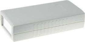 Фото 1/2 G436A, Корпус для РЭА 120х60х30мм, пластик, светло-серый, алюминиевая панель