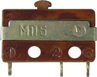 Фото 1/3 МП5, Микропереключатель 3А 250VAC