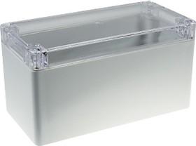 Фото 1/2 G265C, Корпус для РЭА 160х80х85мм, пластик, с прозрачной крышкой