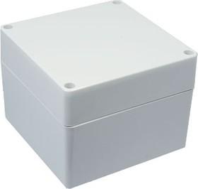 Фото 1/2 G279, Корпус для РЭА 120х120х90 мм, пластик, светло-серый