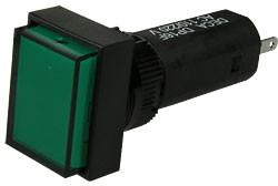 Фото 1/2 ADP16F4-0T0-E1TG, Индикатор зеленый 220В/3А