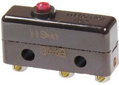 11SM1, Микропереключатель 250В 5А