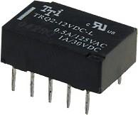 TRQ2-12VDC-R, Реле 1зам. 12V / 1A, 250VAC
