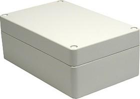 Фото 1/3 G116P, Корпус для РЭА 160x100x60мм окрашенный, металл, герметичный, серый