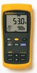 Fluke 53-II B, Измеритель температуры с термопарой -250+1767°C (Госреестр РФ)