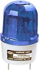 Фото 1/2 WL-A180B, проблесковый маяк голубой D=270мм 12VDC