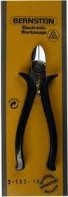 3-133-13, Бокорезы мощные, 145мм, для жесткого провода