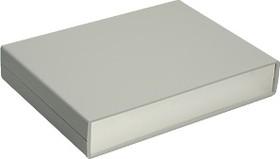Фото 1/2 G715A, Корпус для РЭА 225х165х40 мм, пластик, темно-серый, алюминиевая панель