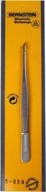 5-036, Пинцет прецизионный титановый, 145мм, прямой
