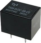 TR99-6VDC-SB-CD, Реле 2пер. 6V / 5A, 28VDC