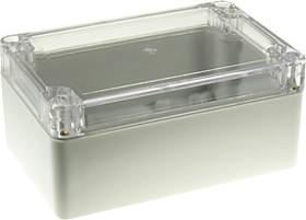 Фото 1/2 G2104C, Корпус для РЭА 120х80х55мм, пластик, с прозрачной крышкой