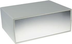G749A, Корпус для РЭА 225х165х90мм, пластик, светло-серый, алюминиевая панель