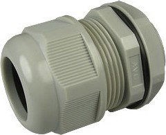 1001M3225-G (MGB32-25G), Ввод кабельный, полиамид, серый