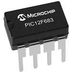 Фото 3/7 PIC12F683-I/P, Микроконтроллер 8-Бит, PIC, 20МГц, 3.5КБ (2Кx14) Flash, 6 I/O [DIP-8]