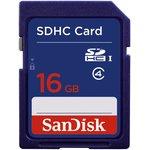 SDSDB-016G-B35, Карта памяти SanDisk 16Gb SDHC Class4