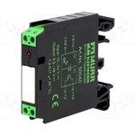 MURR-50040, Реле интерфейсное, Uобмотки 24ВDC, транзистор, Монтаж DIN