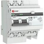 Выключатель автоматический дифференциального тока 2п 50А 100мА АД-2 PROxima EKF ...