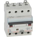 Выключатель автоматический дифференциального тока 4п C 25А 30мА тип AC 10кА DX3 ...