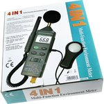DVM401, Измеритель 4 в 1 (освещенность, температура ...