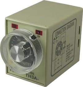 TH3A-NA-60M-220VAC, Таймер 1-60 минут