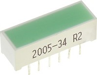 DF-3GD, Световая полоса зеленая 6.8х19.9мм 52мКд