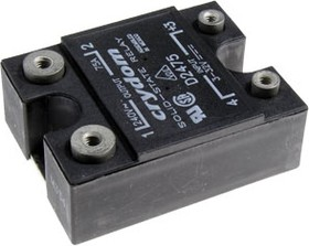 Фото 1/2 D2475, Реле 3-32VDC, 75А/240VAC