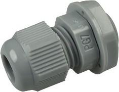 PGB7-07G, Ввод кабельный, полиамид, серый