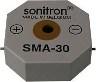 Фото 1/2 SMA-30-S, 30 мм, Пьезоизлучатель с генератором, SMD