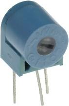 Фото 1/2 POT1102T-102, 1 кОм, резистор подстроечный