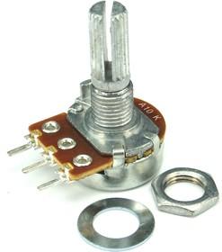 16K1-A10K, L-20KC, 10 кОм, Резистор переменный