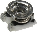 Фото 1/2 PVA3A105, 1 МОм (3303X-3-105), резистор подстроечный