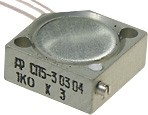 СП5-3, 1 Вт, 100 Ом, Резистор подстроечный