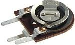 Фото 1/2 СП3-38в, 0.125 Вт, 150 кОм, Резистор подстроечный