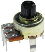 """R1212N-B100K, L-15KC, 100 кОм, """"B"""", Резистор переменный"""