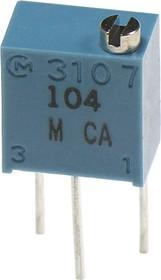 PV37W501, (СП5-2ВБ) 500 Ом (аналог 3266W-1-501), резистор подстроечный