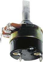 24S1-A20K, L25F, 20 кОм, Резистор переменный с выключателем
