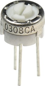 Фото 1/2 PV32H101, 3321H-1-101 100 Ом (СП3-19а), резистор подстроечный