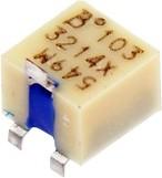 3214X-1-501, 500 Ом, 5 оборотов, Резистор подстроечный