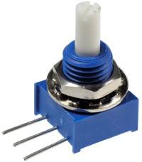 Фото 1/2 3310C-001-102, 1 кОм, Резистор подстроечный