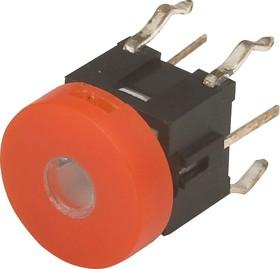 TC002N11ARXOUYUB, Кнопка без фиксации с подсветкой (желтая/синяя)